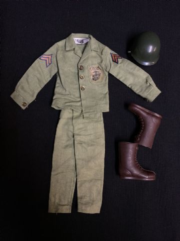 VINTAGE ACTION MAN  - INTERNATIONAL SERIES - USMC Outfit
